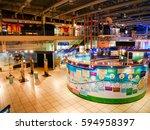 science museum information...   Shutterstock . vector #594958397