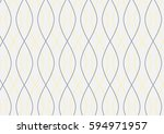 vector abstract wave pattern... | Shutterstock .eps vector #594971957