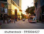 kuala lumpur malaysia   16 feb  ... | Shutterstock . vector #595006427
