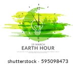 poster or banner background for ... | Shutterstock .eps vector #595098473