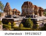 eklingji temple complex ... | Shutterstock . vector #595158317