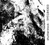 black and white vintage grunge... | Shutterstock .eps vector #595184303