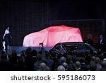 geneva  switzerland   march 4 ... | Shutterstock . vector #595186073