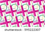 modish style abstract... | Shutterstock .eps vector #595222307