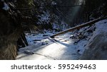 Winter Variant Of Hiking Path...