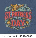 vector illustration of happy...   Shutterstock .eps vector #595260833