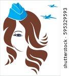 illustration for buisness... | Shutterstock .eps vector #595329593