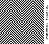 vector seamless pattern.... | Shutterstock .eps vector #595354157