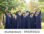 education  graduation and... | Shutterstock . vector #595393523