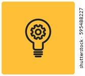 creative idea vector icon | Shutterstock .eps vector #595488227