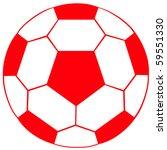 english soccer ball | Shutterstock . vector #59551330
