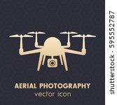 drone icon  logo  quadrocopter...