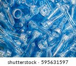 high technology plastic bottle... | Shutterstock . vector #595631597