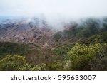 view over anaga mountains ... | Shutterstock . vector #595633007