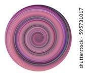 swirling circle button design... | Shutterstock . vector #595731017
