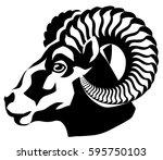 vector graphical illustration... | Shutterstock .eps vector #595750103