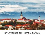 Kranj City Scape  Slovenia....