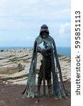 Small photo of Statue King Arthur, Gallos