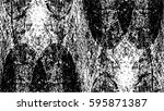 grunge black and white urban... | Shutterstock .eps vector #595871387