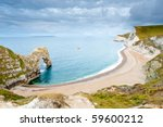 The Curved Bay At Durdle Door...