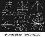 vintage education and...   Shutterstock .eps vector #596070137