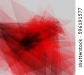 modern geometric red...   Shutterstock .eps vector #596191577