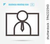 icon businessman meeting...