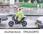 motorcycle motion blur riding... | Shutterstock . vector #596262893