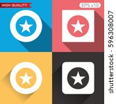 star icon. button with star...
