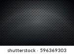 dark metal vector texture... | Shutterstock .eps vector #596369303
