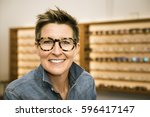 an image of a woman in a... | Shutterstock . vector #596417147