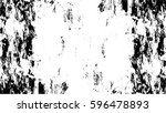 grunge black and white urban... | Shutterstock .eps vector #596478893