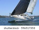 Sailing Yacht Race. Yachting....