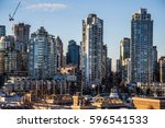vancouver   downtown   canada | Shutterstock . vector #596541533