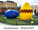 vienna  austria   april 3  2015 ... | Shutterstock . vector #596613497