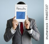 Small photo of Business achievement improvement success result