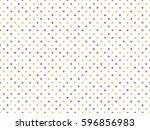 polka dot pattern  seamless...   Shutterstock .eps vector #596856983