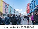 london  england   24 february... | Shutterstock . vector #596890547