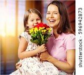 day. | Shutterstock . vector #596942873