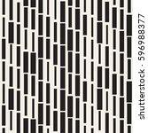 vector seamless black and white ... | Shutterstock .eps vector #596988377