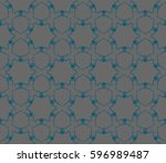 abstract repeat backdrop.... | Shutterstock . vector #596989487