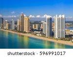 sunny morning shot of sunny... | Shutterstock . vector #596991017