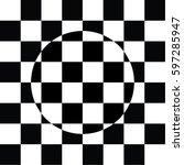 Black And White Checkered Tile...