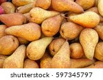 Big Bunch Of Pears Fruits