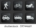 transportation icons on square... | Shutterstock .eps vector #59744669