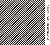 seamless vector pattern.... | Shutterstock .eps vector #597462497