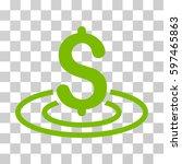 money area icon. vector... | Shutterstock .eps vector #597465863
