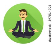 vector illustration of... | Shutterstock .eps vector #597514703