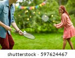 leisure  holidays  people and...   Shutterstock . vector #597624467