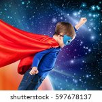 kid. | Shutterstock . vector #597678137